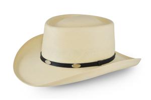 Style: 081 Gambler Straw Hat