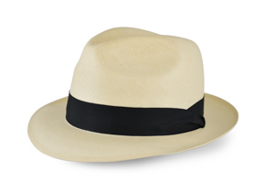 Style: 145 Shantung Center Dent Hat