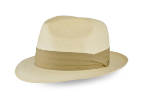 Style: 158 Shantung Center Dent Hat