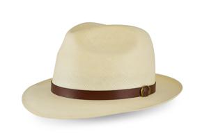 Style: 159 Shantung Center Dent Hat