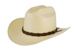 Style: WS-196 Shantung Rancher Hat