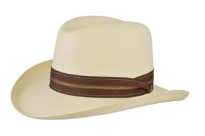 Style: 280 Shantung Homburg Hat
