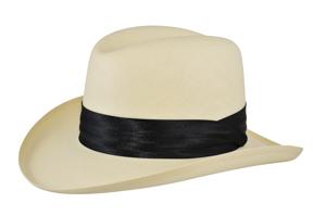 Style: 286 Shantung Homburg Hat